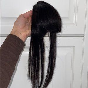 """Hair Shop """"Blunt Bang"""", Real Human Hair"""